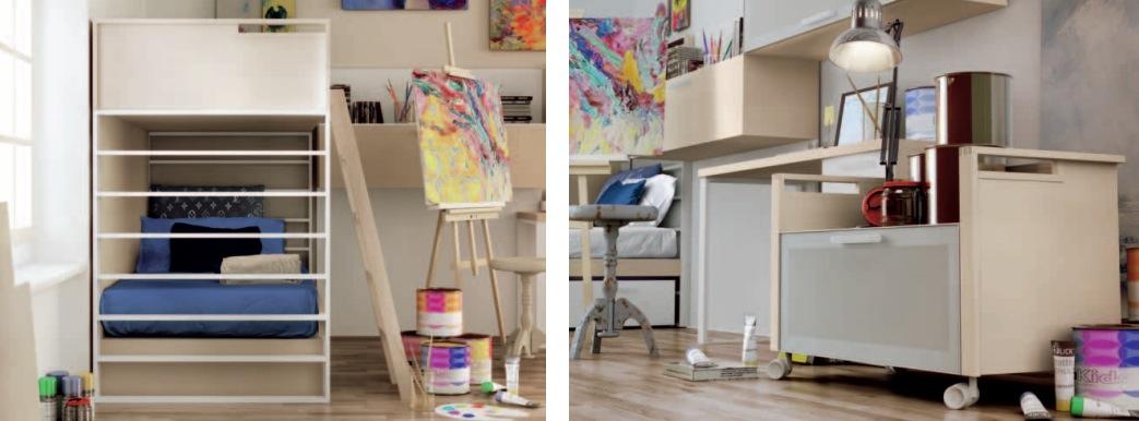 Creative Teen Bedroom Design: Themed Teen Rooms (For Artist, Dancer, Rockstar And