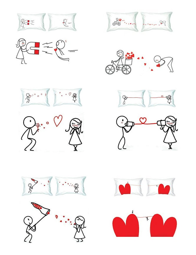lustige Valentinstag-Karte