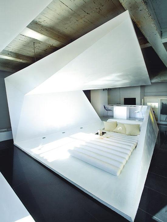 futuristisch-Schlafzimmer