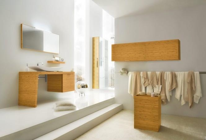 Grau-Badezimmer-design