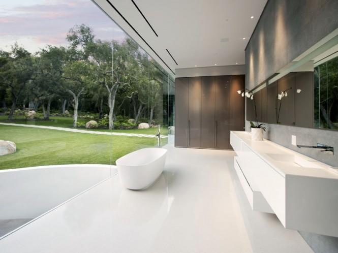 Luxus-Badezimmer-design