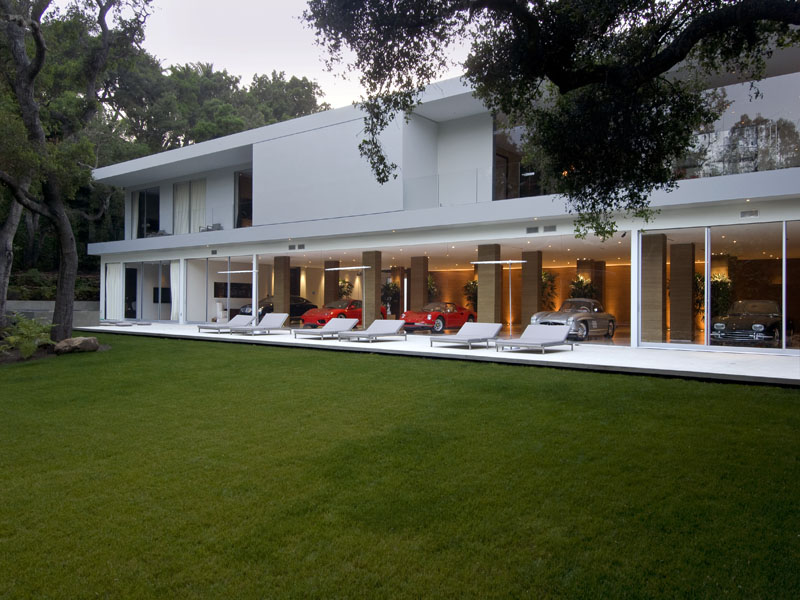 The Stunning Glass Pavilion By Architect Steve Hermann
