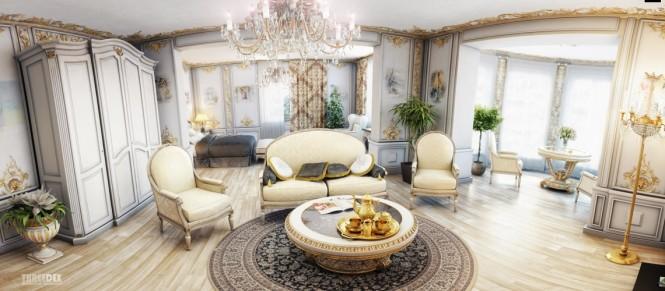 regency und viktorianischen ära, home interior
