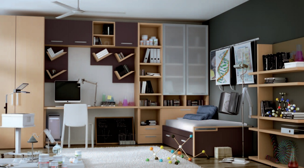 Themed Teen Rooms For Artist Dancer Rockstar And Scientist