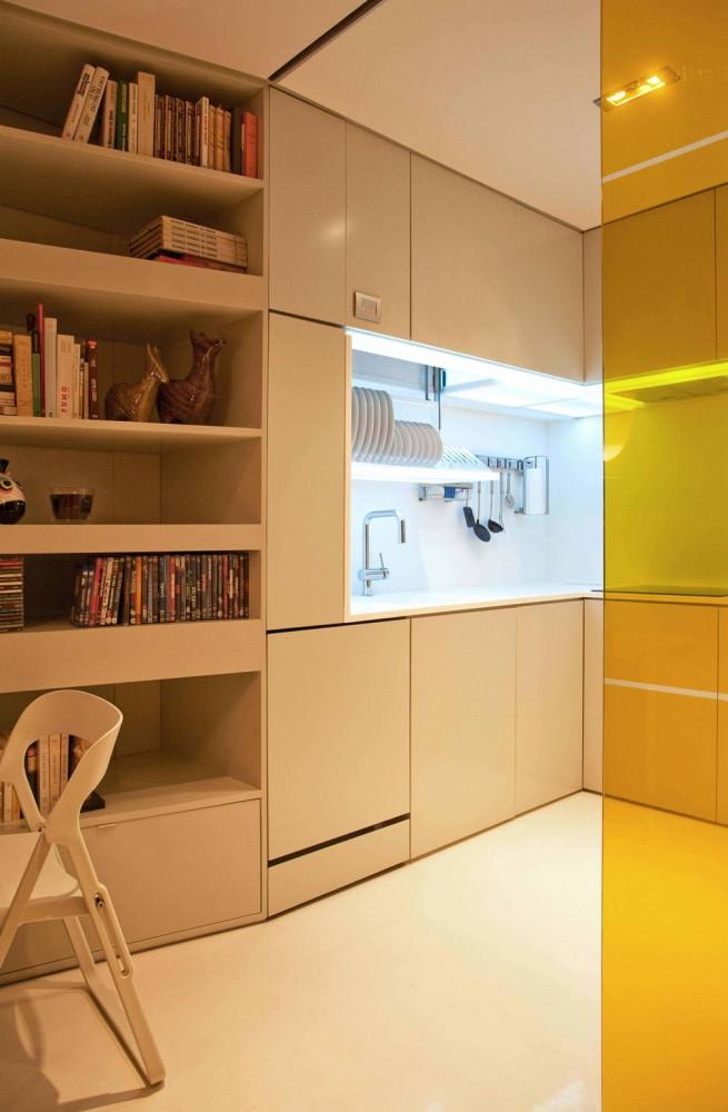 klein-Raum-Küche-Möbel