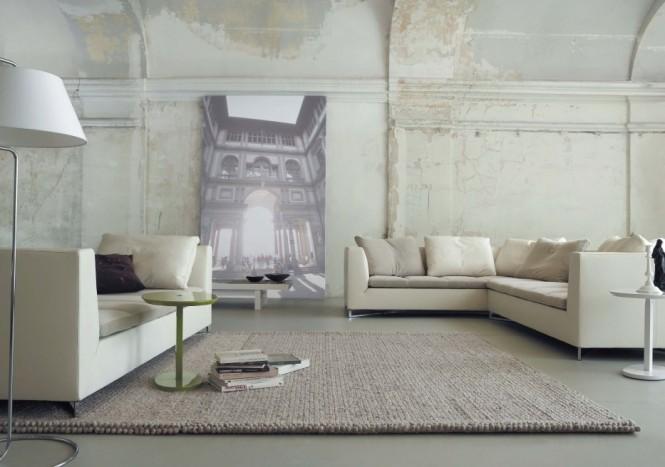 weiße Wände, Wandmalereien