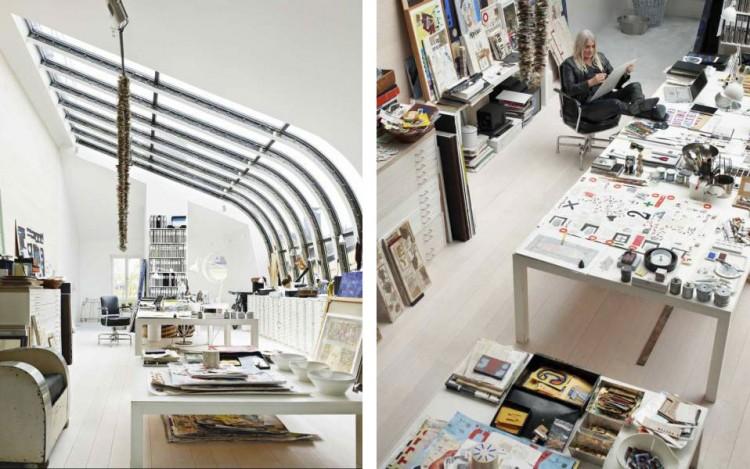 Beautiful Studio Loft Of A Swedish Artist