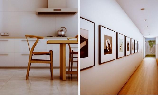 umrahmt Raum-Wand-Kunst