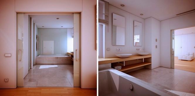 moderne Badezimmer design-Bild