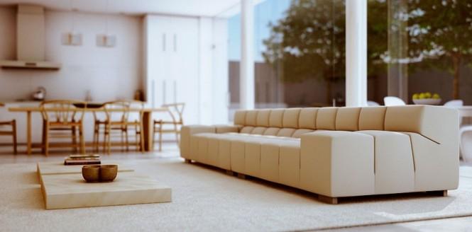 moderne Wohnzimmer-couch