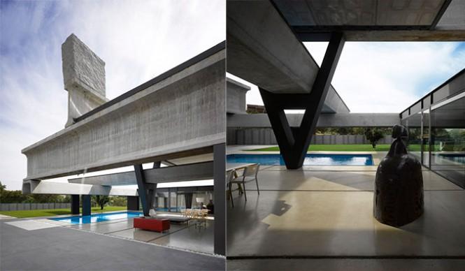 Fertighaus-Haus-pool-designs
