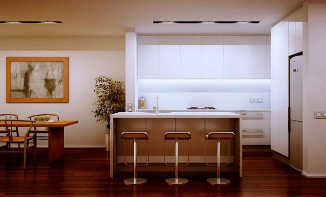 die stilvolle Küche