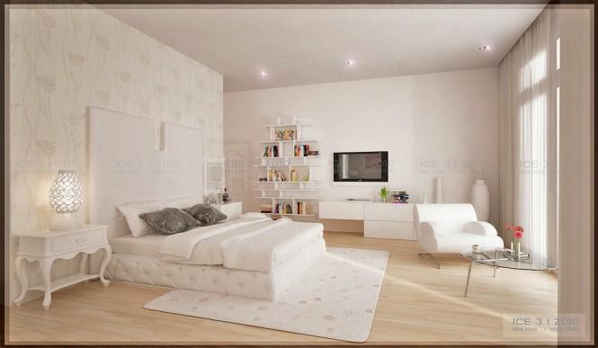 Renders 3d For Master Bedroom Project: Beautiful Indoor Renders