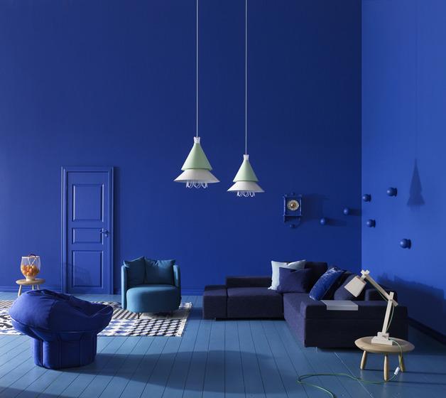 Splashes Of Colour In White Interiors