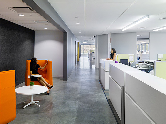 Belkin S Bright And Colorful Office Spaces