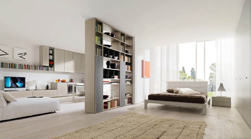 Flowing Open Interiors From Euromobil