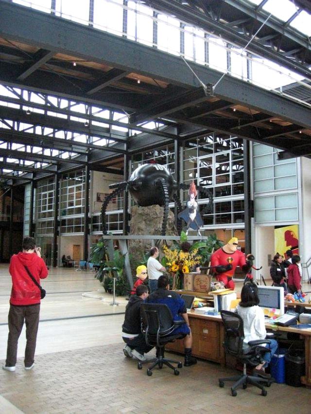 Pixar S Office Interiors