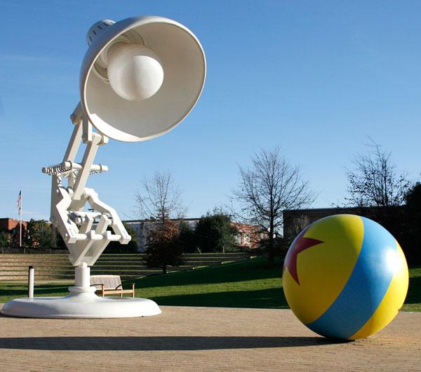 Pixar Light Bulb And Ball Interior Design Ideas