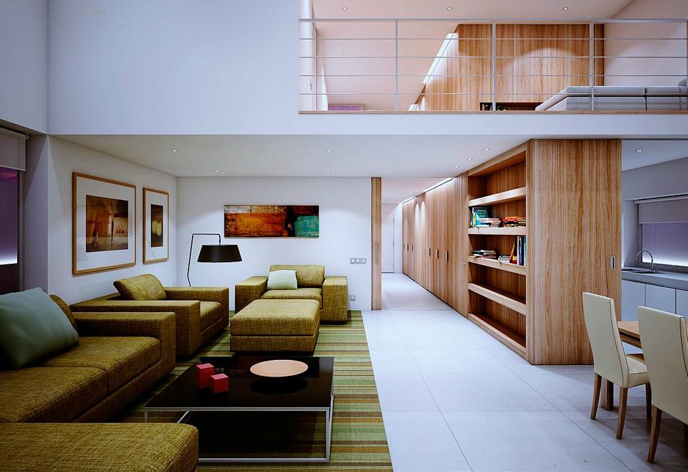 Retro Furniture, Wood Accents