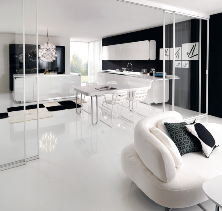 51 Luxury Living Rooms And Tips You Could Use From Them: Flowing Open Interiors From Euromobil