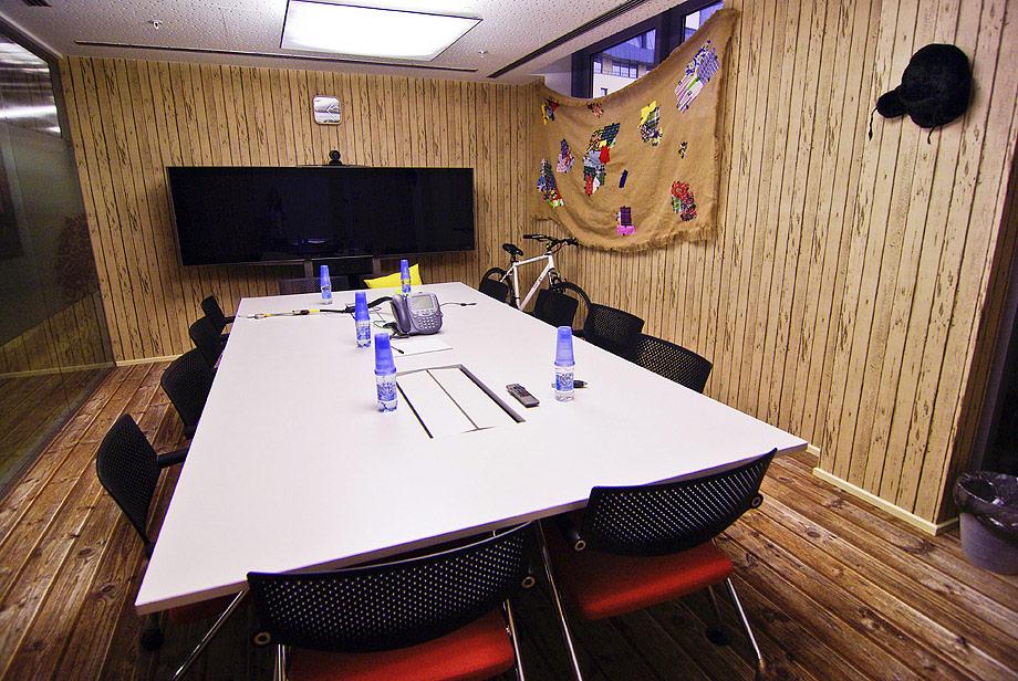 Google Russia Office Meeting Room Interior Design Ideas