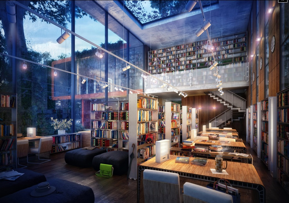 Library inspiration - Building a home library ...
