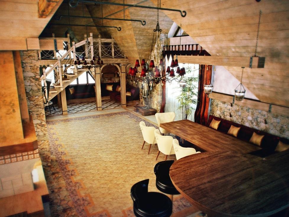 Castle Themed Interiors