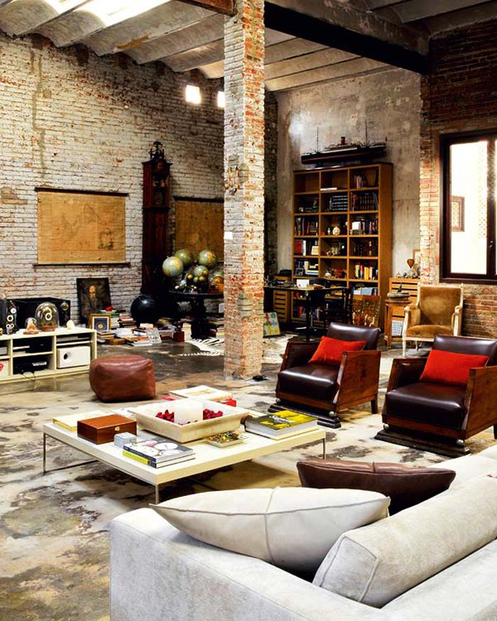 35 Modern Interior Design Ideas Incorporating Columns Into: Castle Themed Interiors