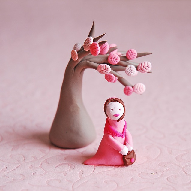 Home Design Ideas Free Download: Cute Clay Figurines By Afsaneh Tajvidi