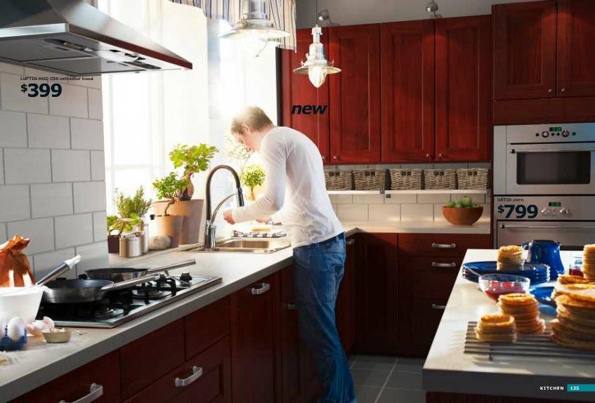 Ikea Cherrywood Kitchen