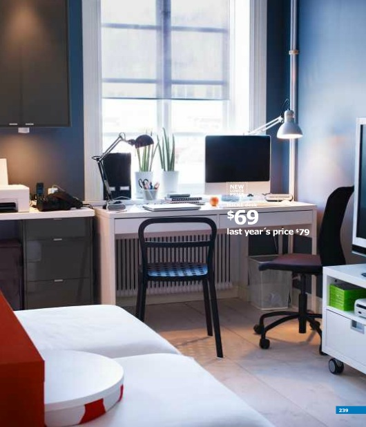 A Dozen Home Workspaces: IKEA 2012 Catalog