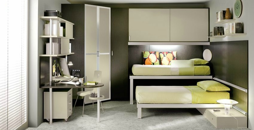 7 Nice Triple Bunk Beds Ideas For Your Children S Bedroom: Shared Kids' Rooms