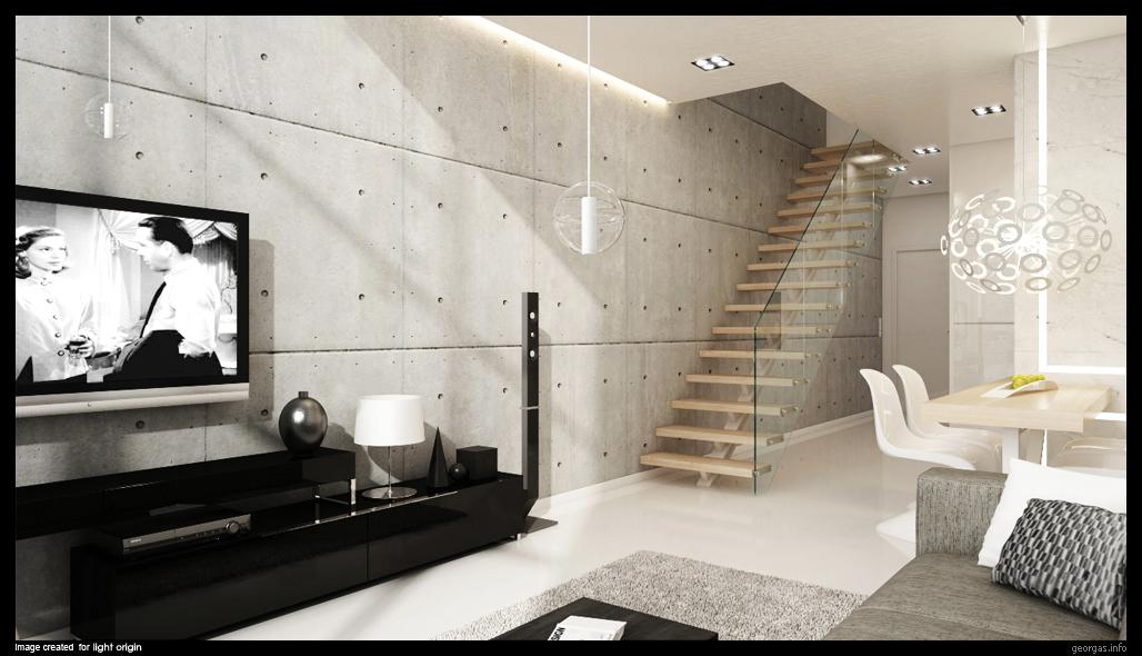 Classy modern interiors visualized by grzegorz magierowski