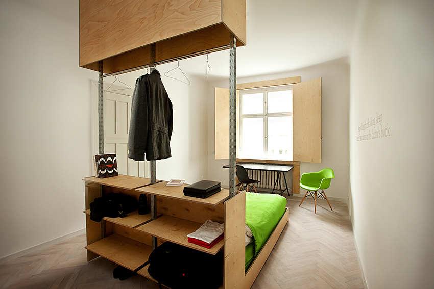 Polish apt simple bedroom