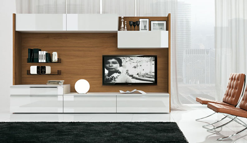 Modern tv wall units - Wall units for living room mumbai ...