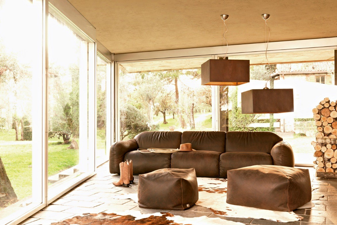 captivating country living rooms brown couches | Busnesli Brown Couch Country Living Room | Interior Design ...