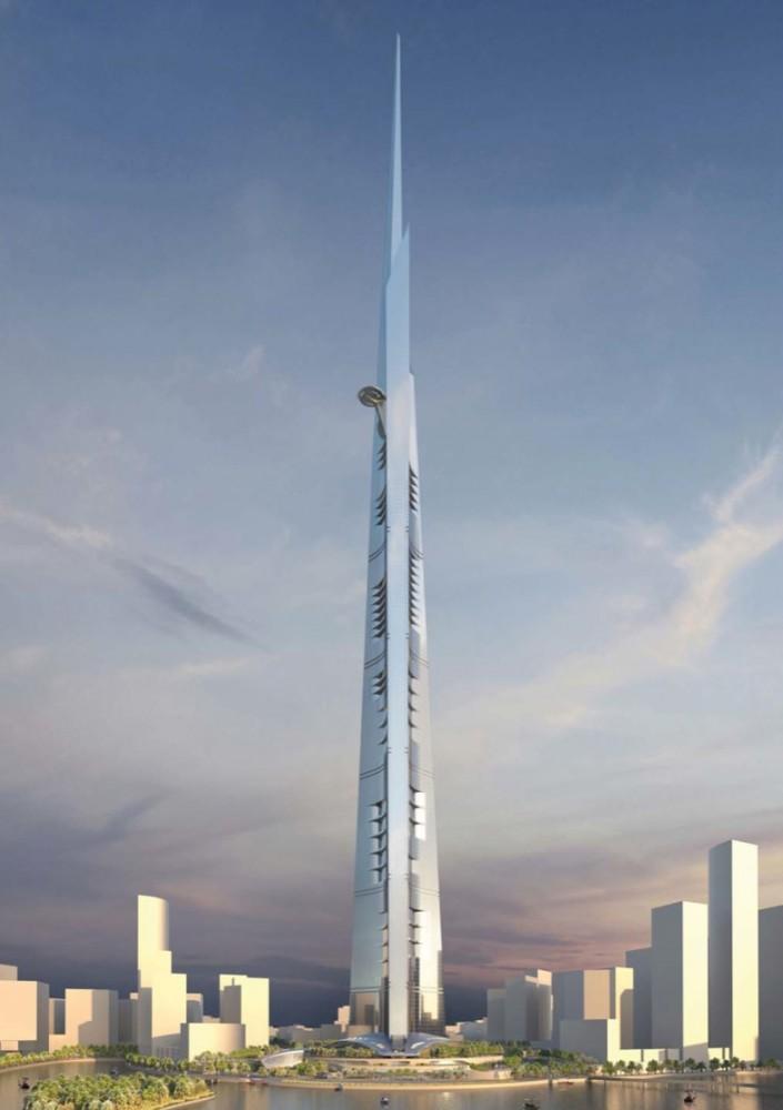 World S New Tallest Building 1 Kilometer High Kingdom Tower