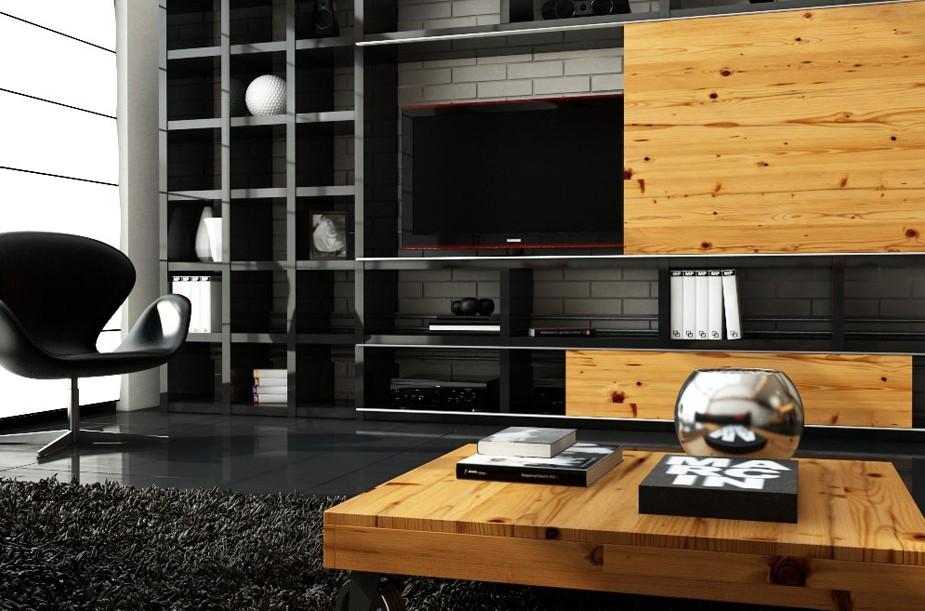 21 Fresh Modern Living Room Designs: Fresh Modern Designs From Marcin Pajak