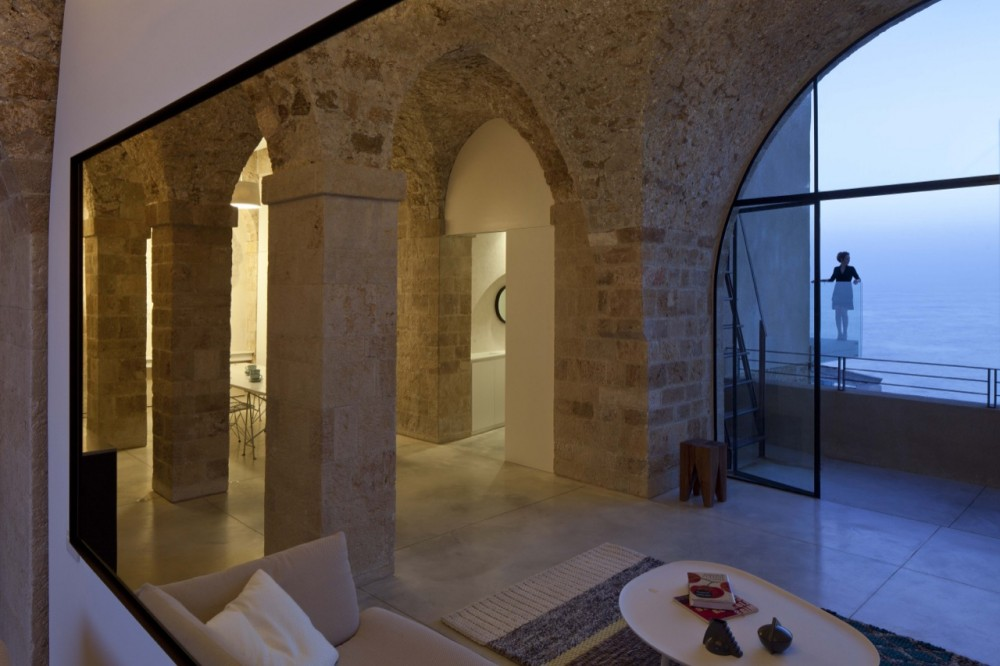 Exterior: The Old And New Jaffa Apartment
