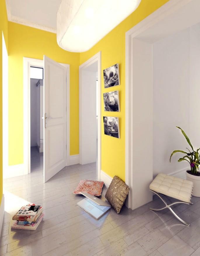 hallway decor ideas yellow jidiletter co