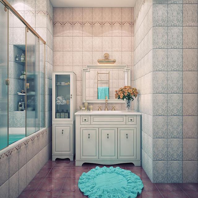 Вот например в ванной комнате мы проводим достаточно длительное время.