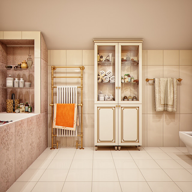 ديكورات حمامات جديدة 2013 ديكورات