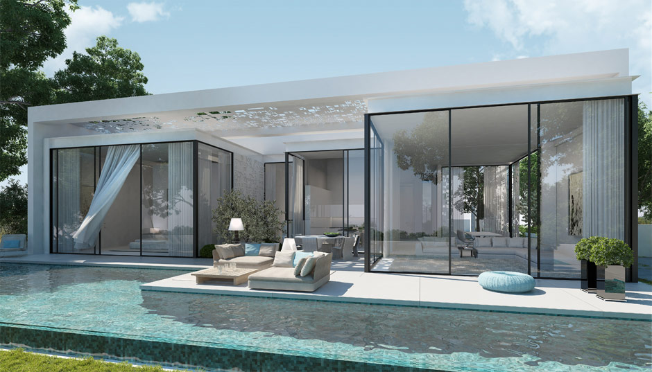 Beautiful pool interior design ideas for Zen pool design