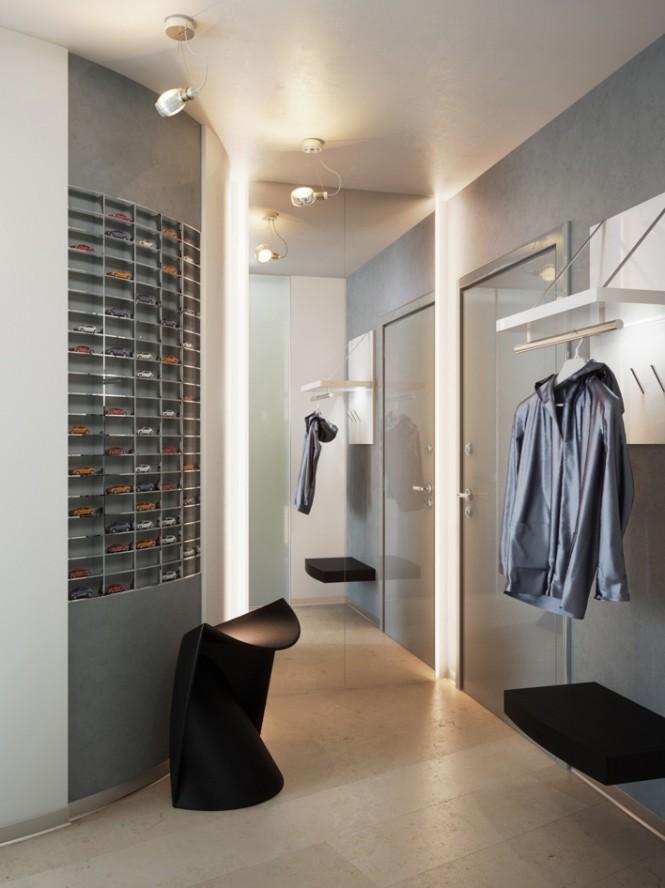 Corridor Design: Small Apartment Design In St.Petersburgh