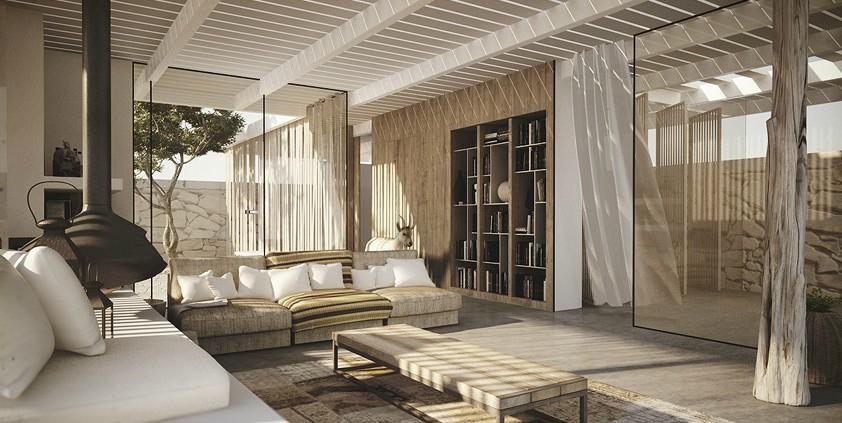 desert home. Black Bedroom Furniture Sets. Home Design Ideas
