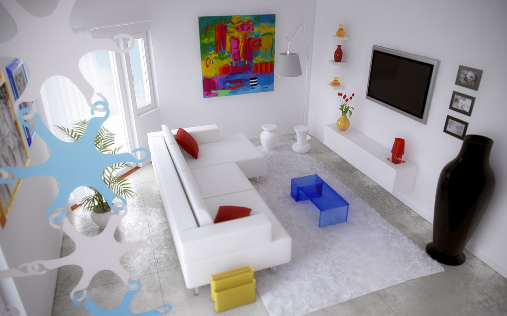 36 Living Room Decorating Ideas That Smells Like Spring: Dashing, Artistic Interiors From Pixel3D
