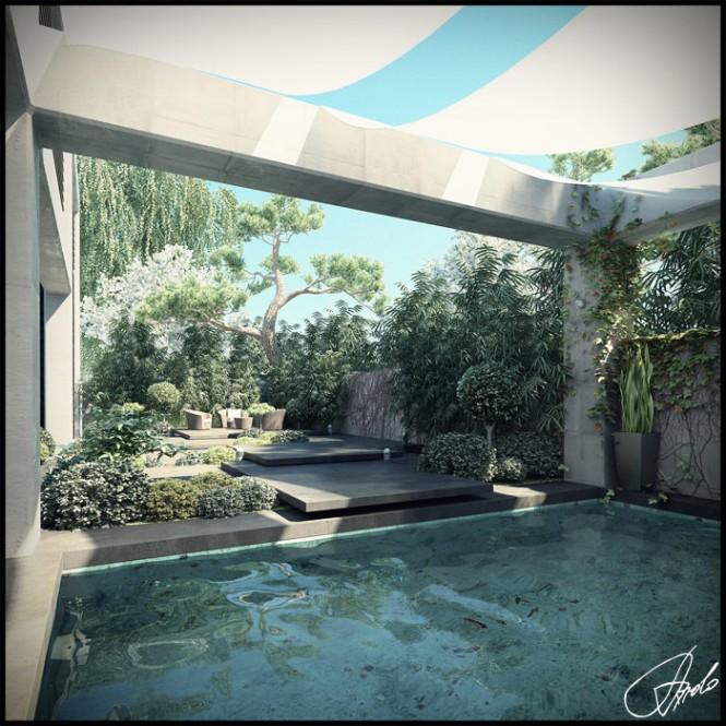 Design Tips For Your Pool House: Garden Landscape Design Inspiration
