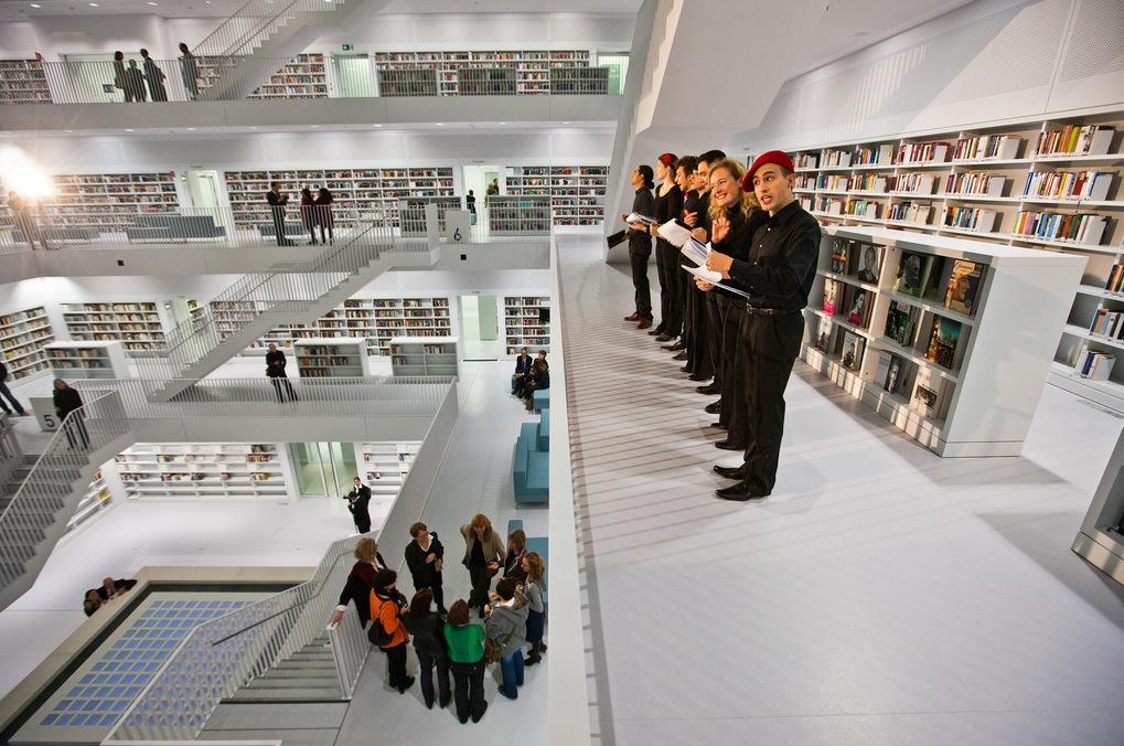 The new stuttgart city library