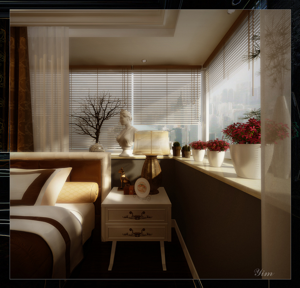 Warm Cozy Home: Warm And Cozy Rooms Rendered By Yim Lee