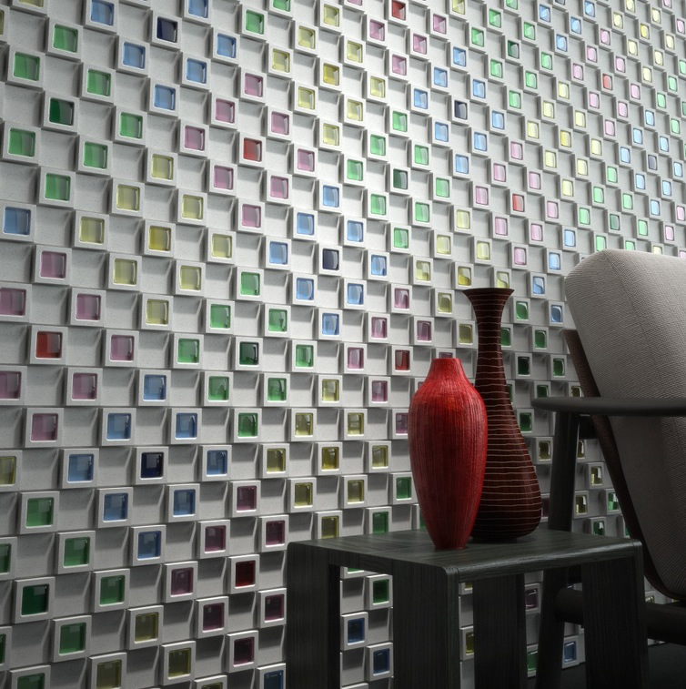 Designing On Wall: Creative Wall Tiles From Japan